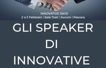 Innovative Days: chi saranno gli speakers dell'evento?